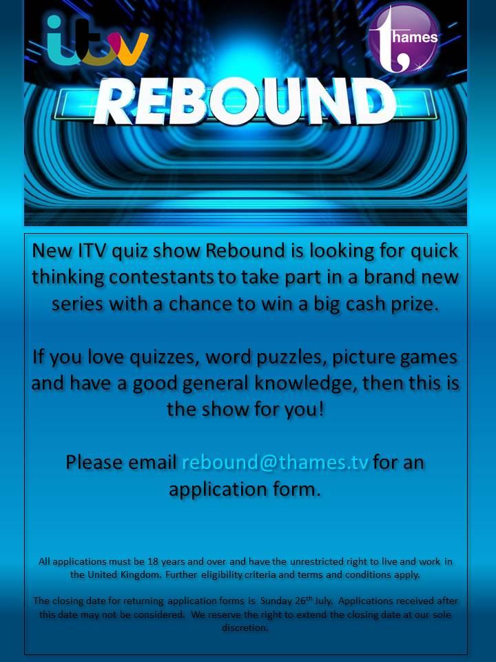 Rebound Flyer